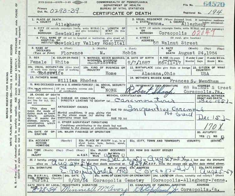 Ford Of Bellevue >> Rhodes Family Tree -F 3rd Great Grandparents